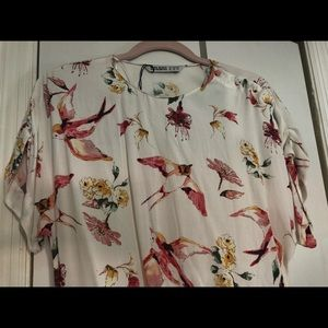 Soft and gorgeous blouse. Never used